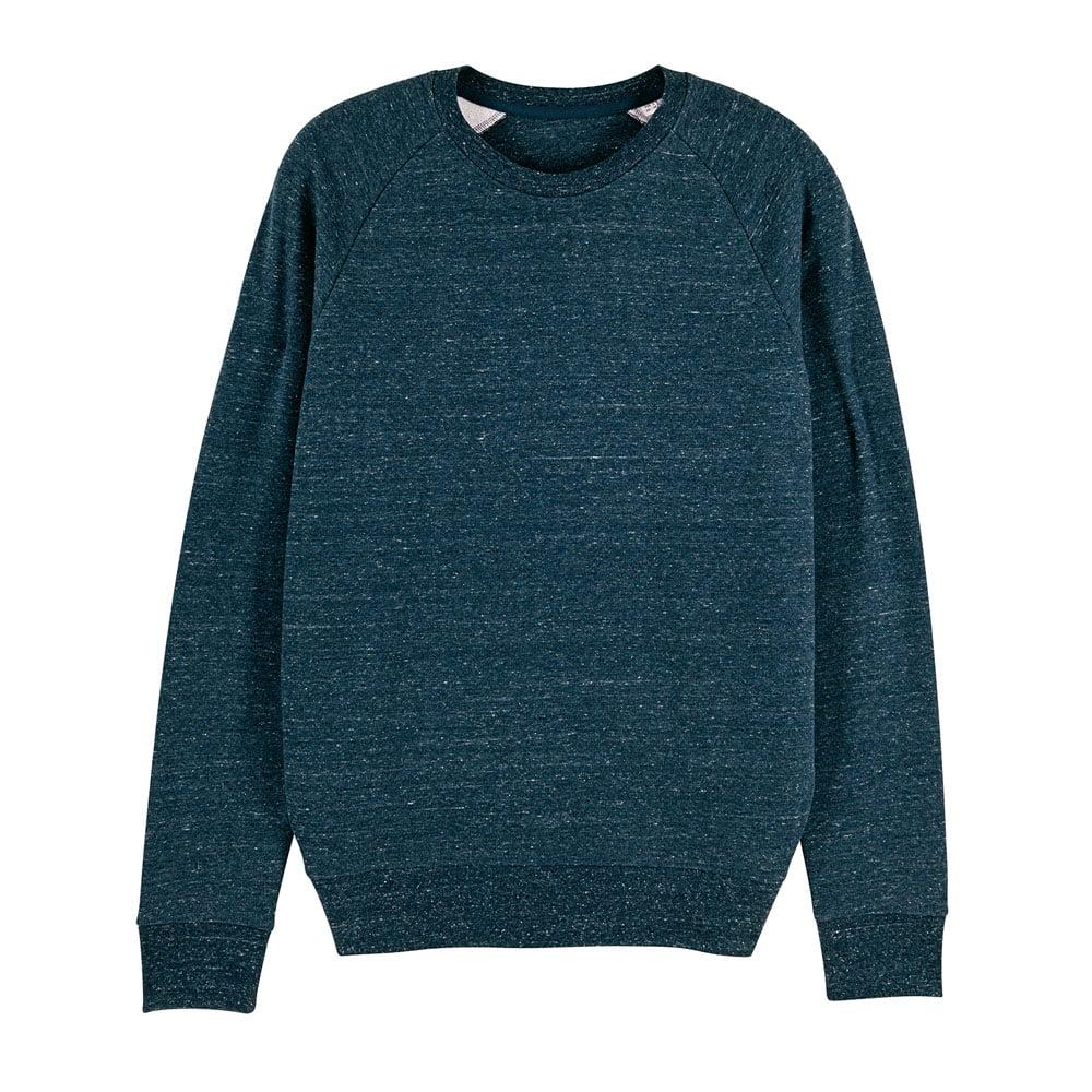Bluzy - Męska Bluza Stanley Stroller - STSM567 - Dark Heather Denim - RAVEN - koszulki reklamowe z nadrukiem, odzież reklamowa i gastronomiczna