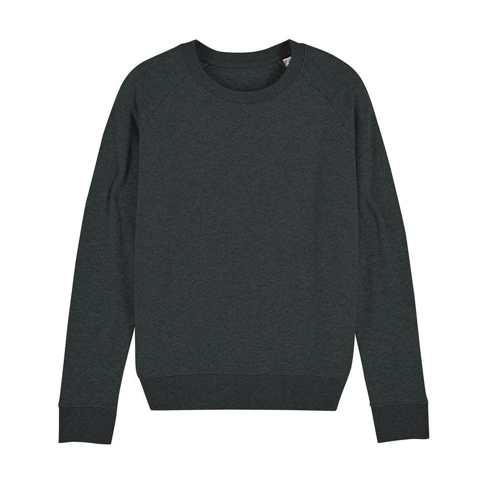 Bluzy - Damska Bluza Stella Tripster - STSW146 - Dark Heather Grey  - RAVEN - koszulki reklamowe z nadrukiem, odzież reklamowa i gastronomiczna