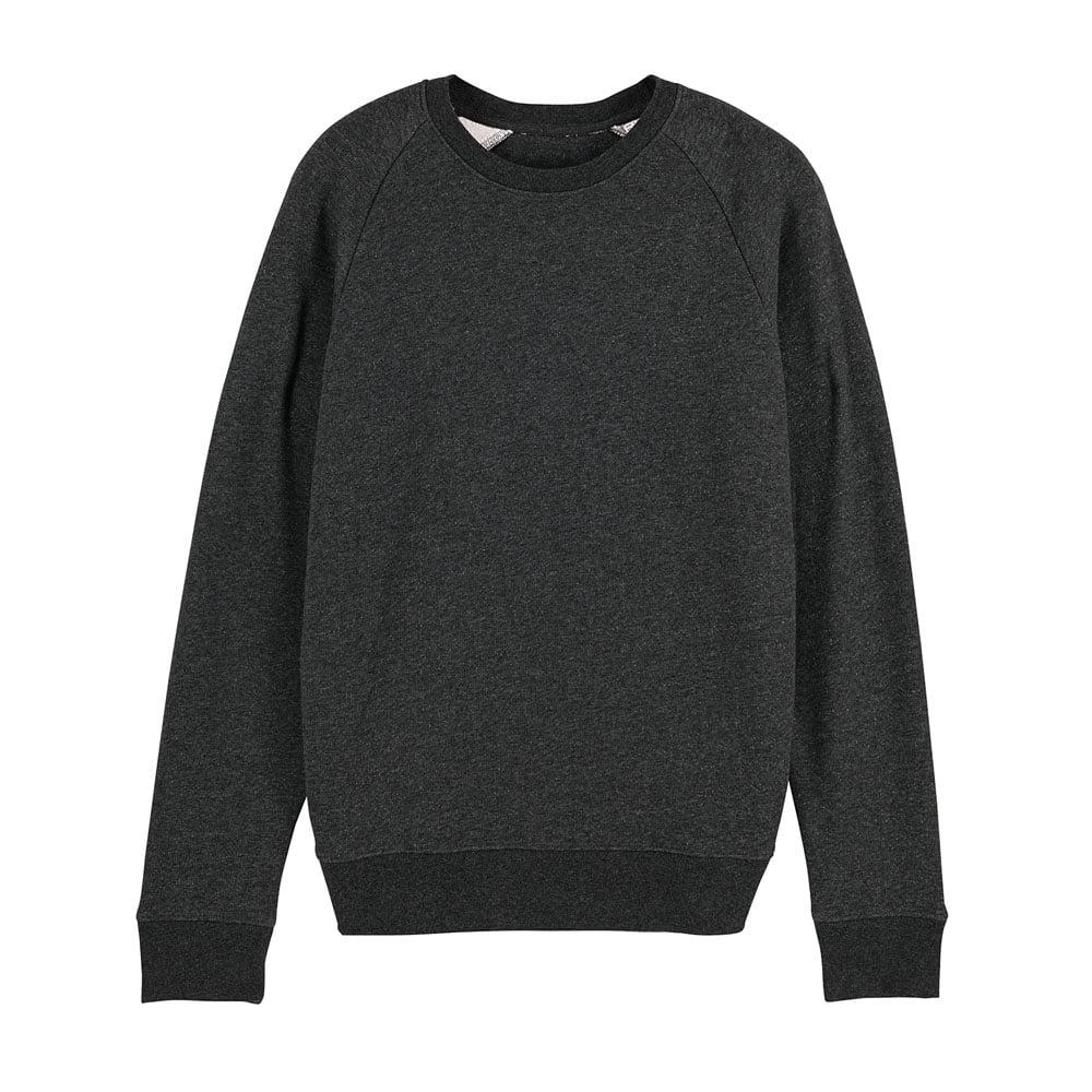 Bluzy - Męska Bluza Stanley Stroller - STSM567 - Dark Heather Grey  - RAVEN - koszulki reklamowe z nadrukiem, odzież reklamowa i gastronomiczna