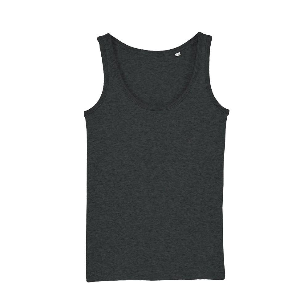Koszulki T-Shirt - Damski Tank Top Stella Dreamer - STTW013 - Dark Heather Grey  - RAVEN - koszulki reklamowe z nadrukiem, odzież reklamowa i gastronomiczna