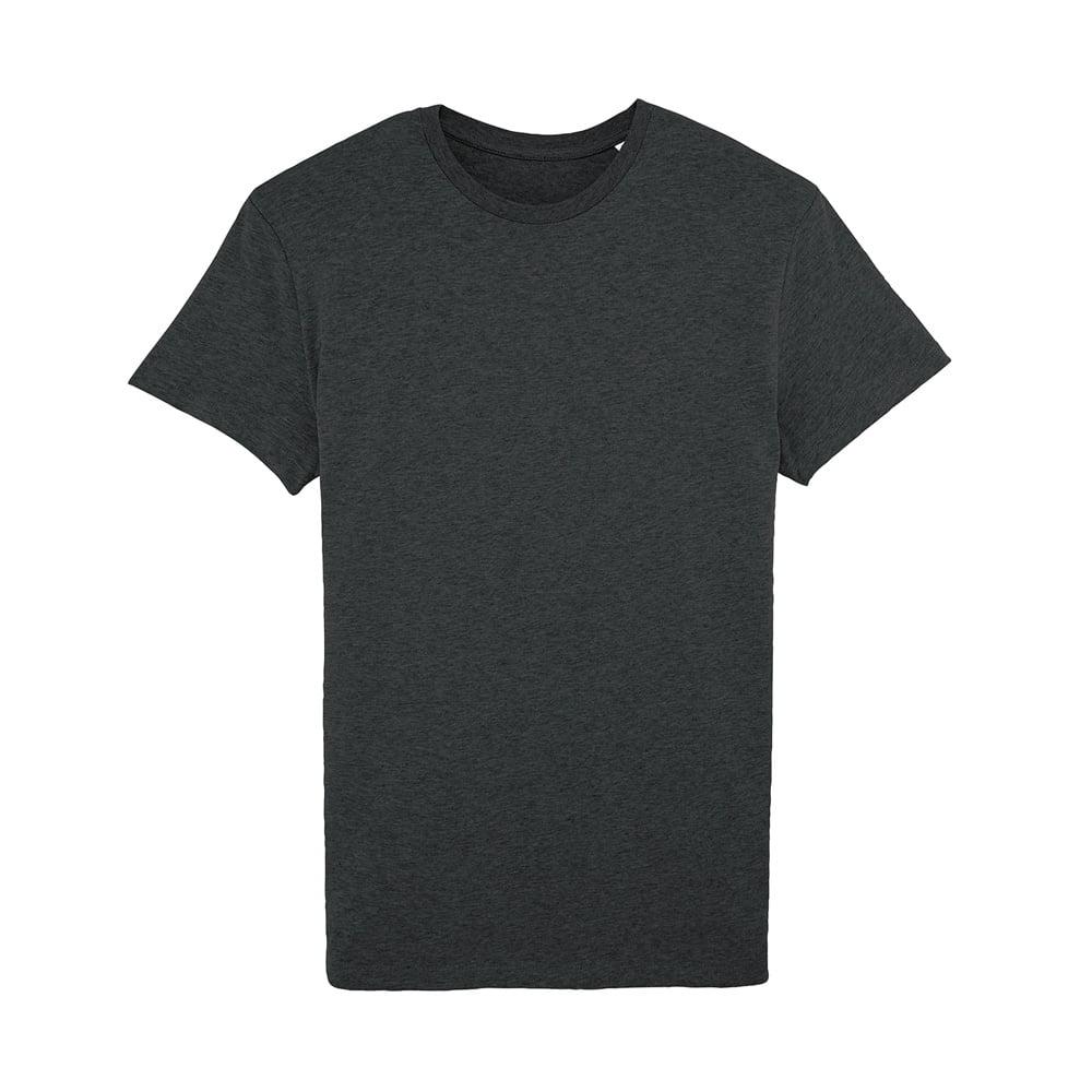 Koszulki T-Shirt - Męski T-shirt Stanley Feels - STTM501 - Dark Heather Grey  - RAVEN - koszulki reklamowe z nadrukiem, odzież reklamowa i gastronomiczna