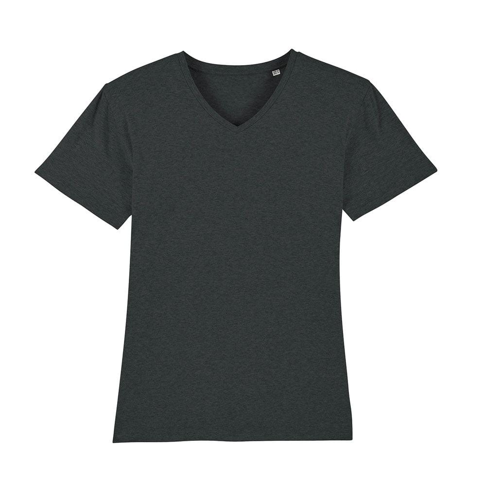 Koszulki T-Shirt - Męski T-shirt Stanley Presenter - STTM562 - Dark Heather Grey  - RAVEN - koszulki reklamowe z nadrukiem, odzież reklamowa i gastronomiczna