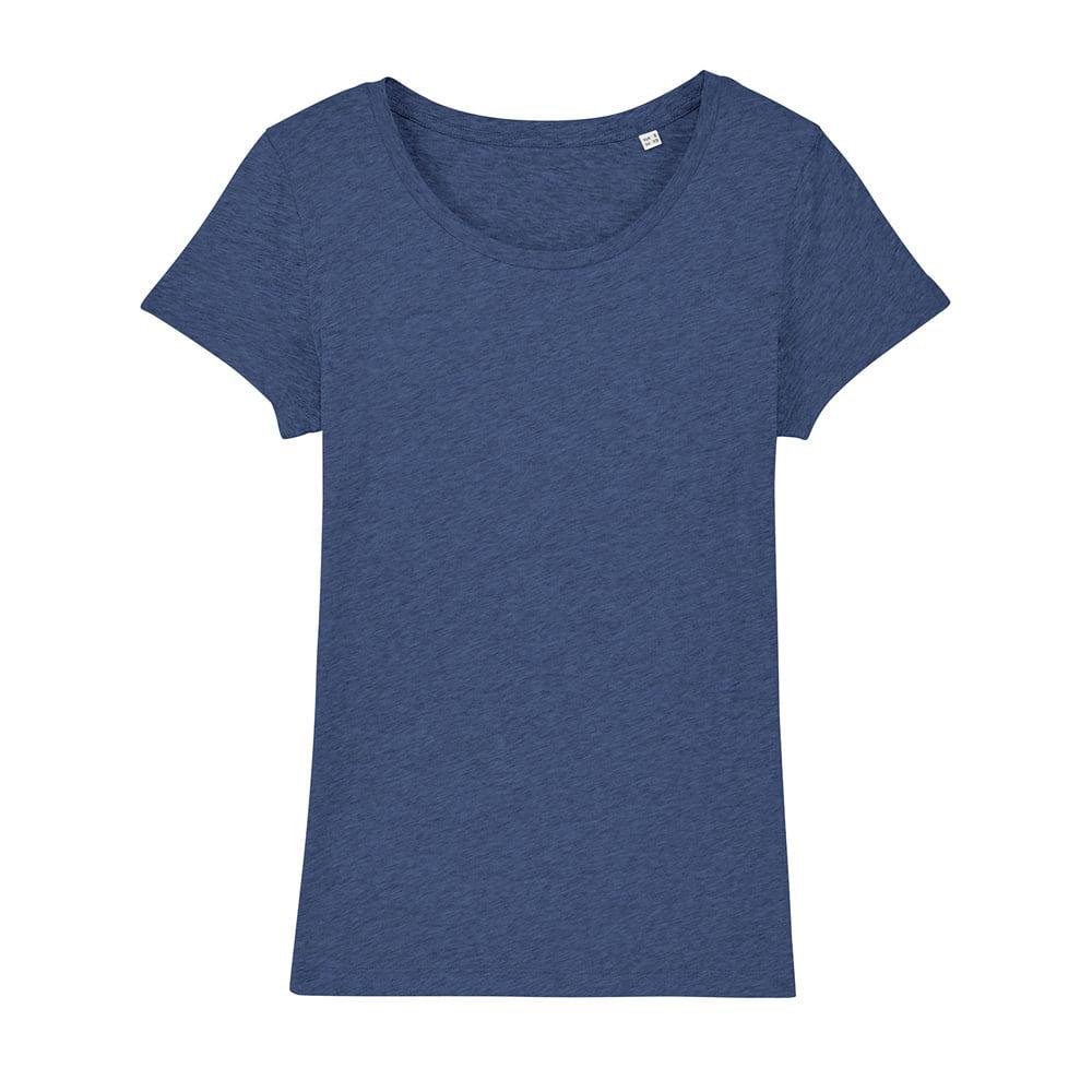Koszulki T-Shirt - Damski T-shirt Stella Lover - STTW017 - Dark Heather Indigo - RAVEN - koszulki reklamowe z nadrukiem, odzież reklamowa i gastronomiczna