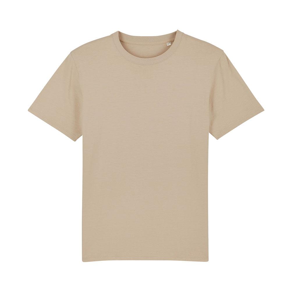 Koszulki T-Shirt - Męski T-shirt Stanley Sparker - STTM559 - Desert Dust - RAVEN - koszulki reklamowe z nadrukiem, odzież reklamowa i gastronomiczna