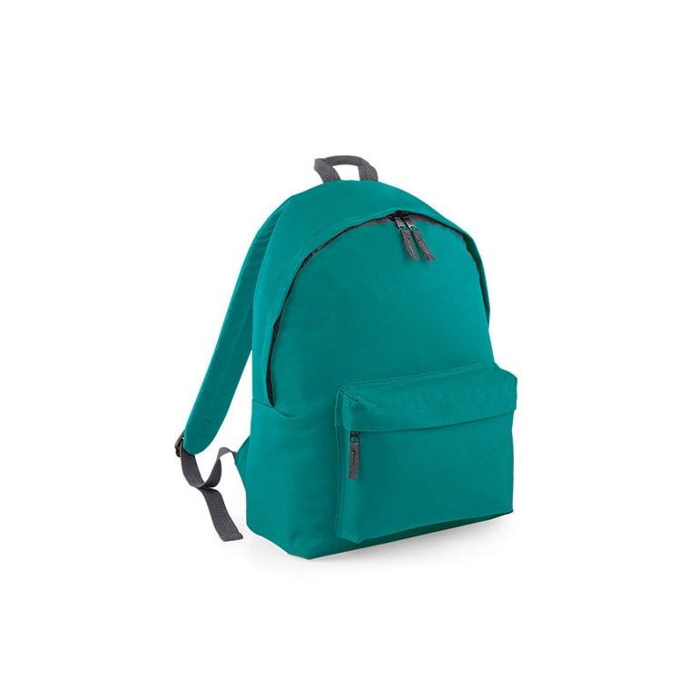 Torby i plecaki - Original Fashion Backpack - BG125 - Emerald - RAVEN - koszulki reklamowe z nadrukiem, odzież reklamowa i gastronomiczna