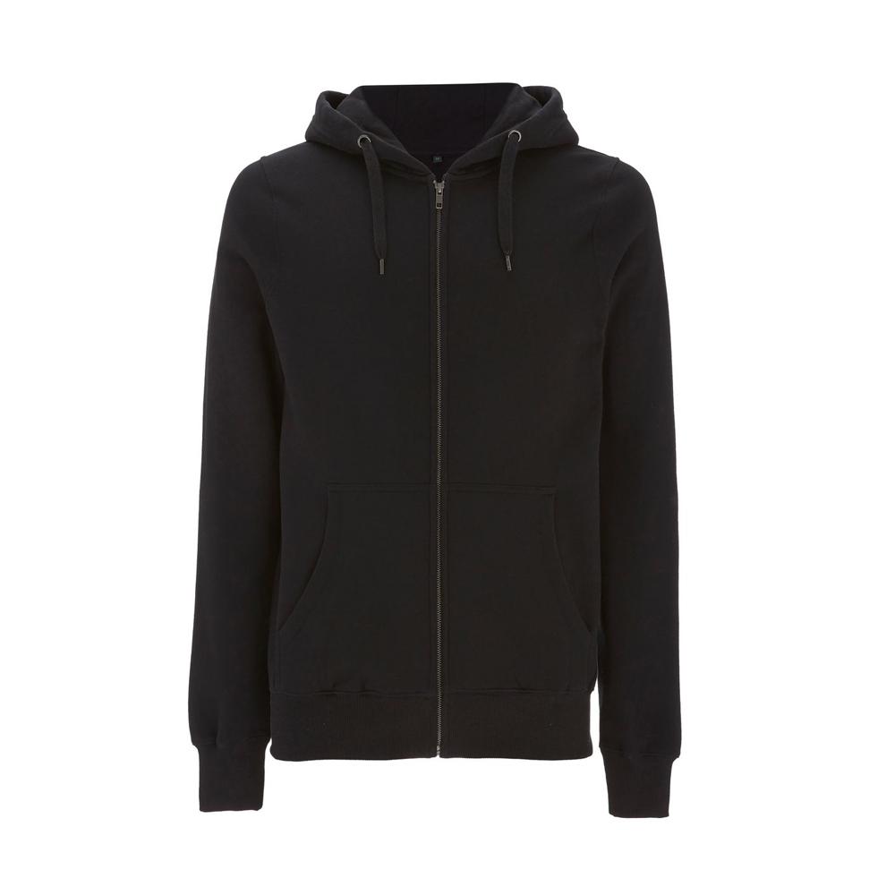 Bluzy - Bluza Unisex z Zamkiem Hoody EP51Z - BL - Black - RAVEN - koszulki reklamowe z nadrukiem, odzież reklamowa i gastronomiczna
