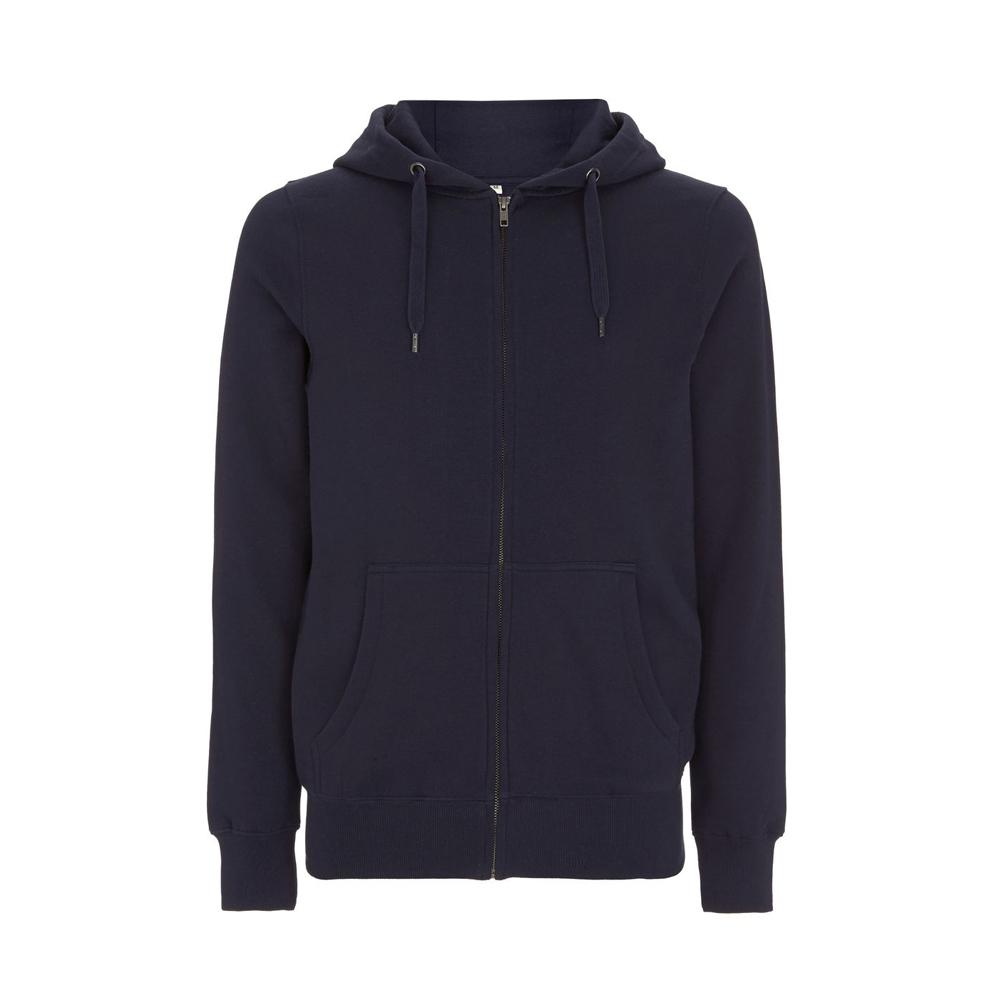 Bluzy - Bluza Unisex z Zamkiem Hoody EP51Z - NA - Navy - RAVEN - koszulki reklamowe z nadrukiem, odzież reklamowa i gastronomiczna