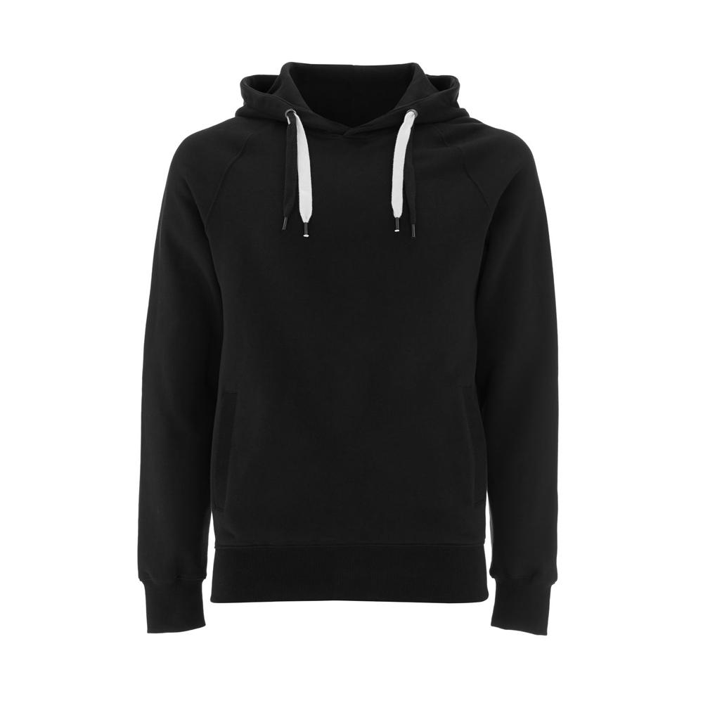 Bluzy - Bluza Unisex Pullover Hoody EP60P - BL - Black - RAVEN - koszulki reklamowe z nadrukiem, odzież reklamowa i gastronomiczna