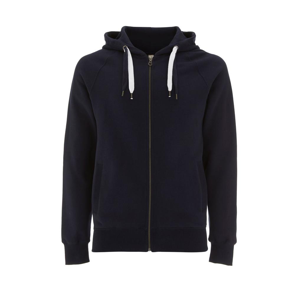 Bluzy - Bluza Unisex z Zamkiem Hoody EP60Z - NA - Navy - RAVEN - koszulki reklamowe z nadrukiem, odzież reklamowa i gastronomiczna