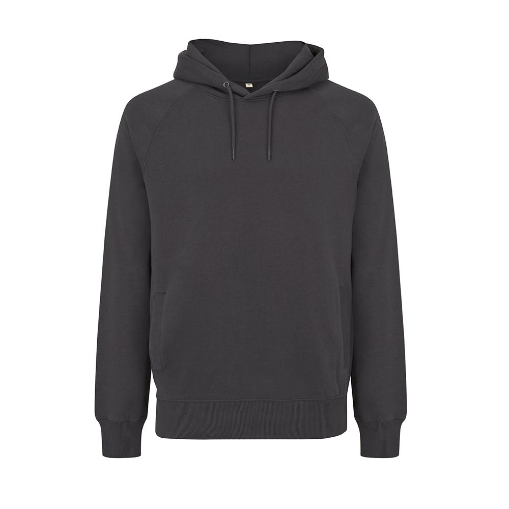 Bluzy - Bluza Unisex Raglan Pullover Hoody EP61P - AB - Ash Black - RAVEN - koszulki reklamowe z nadrukiem, odzież reklamowa i gastronomiczna