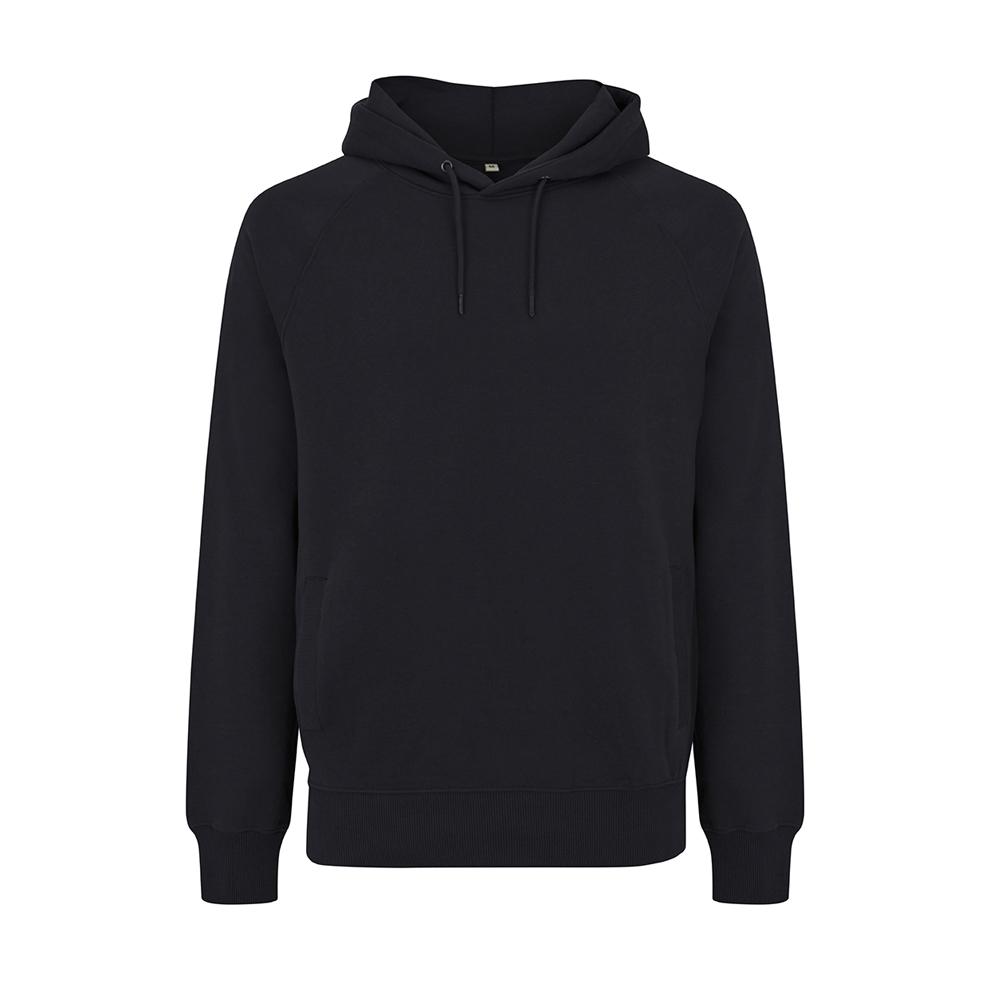 Bluzy - Bluza Unisex Raglan Pullover Hoody EP61P - BL - Black - RAVEN - koszulki reklamowe z nadrukiem, odzież reklamowa i gastronomiczna