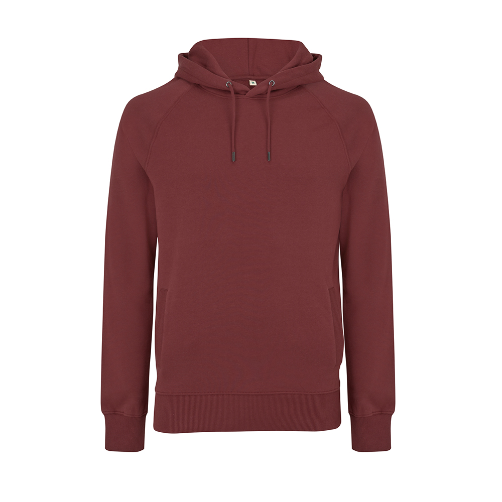 Bluzy - Bluza Unisex Raglan Pullover Hoody EP61P - BU - Burgundy - RAVEN - koszulki reklamowe z nadrukiem, odzież reklamowa i gastronomiczna