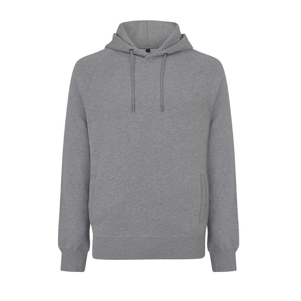 Bluzy - Bluza Unisex Raglan Pullover Hoody EP61P - MGY - Melange Grey - RAVEN - koszulki reklamowe z nadrukiem, odzież reklamowa i gastronomiczna