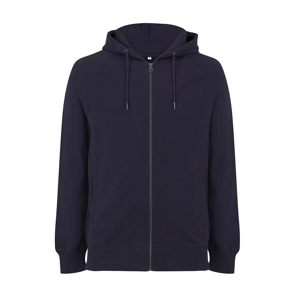Bluzy - Bluza Unisex z Zamkiem Raglan EP61Z - NA - Navy - RAVEN - koszulki reklamowe z nadrukiem, odzież reklamowa i gastronomiczna