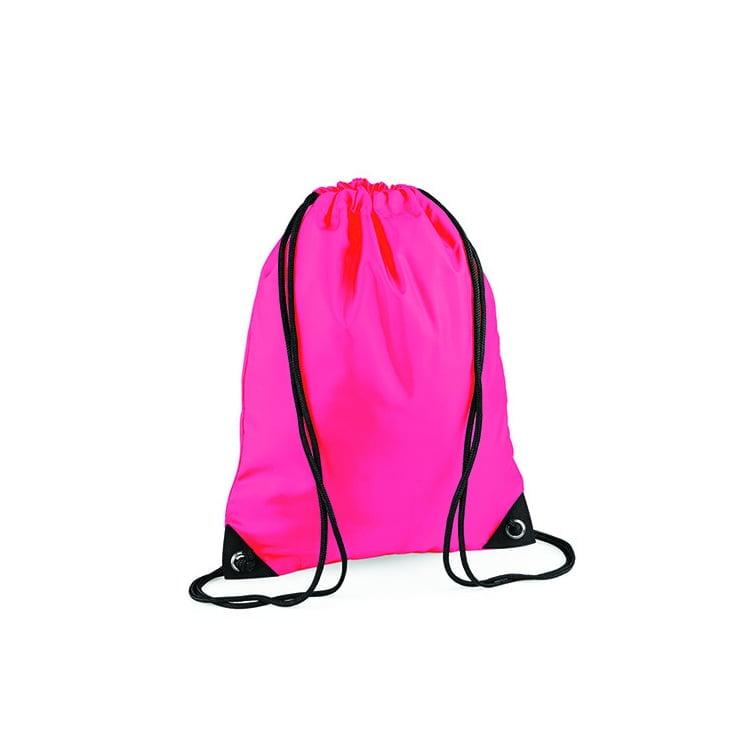 Torby i plecaki - Worek festiwalowy Premium - BG10 - Fluorescent Pink - RAVEN - koszulki reklamowe z nadrukiem, odzież reklamowa i gastronomiczna
