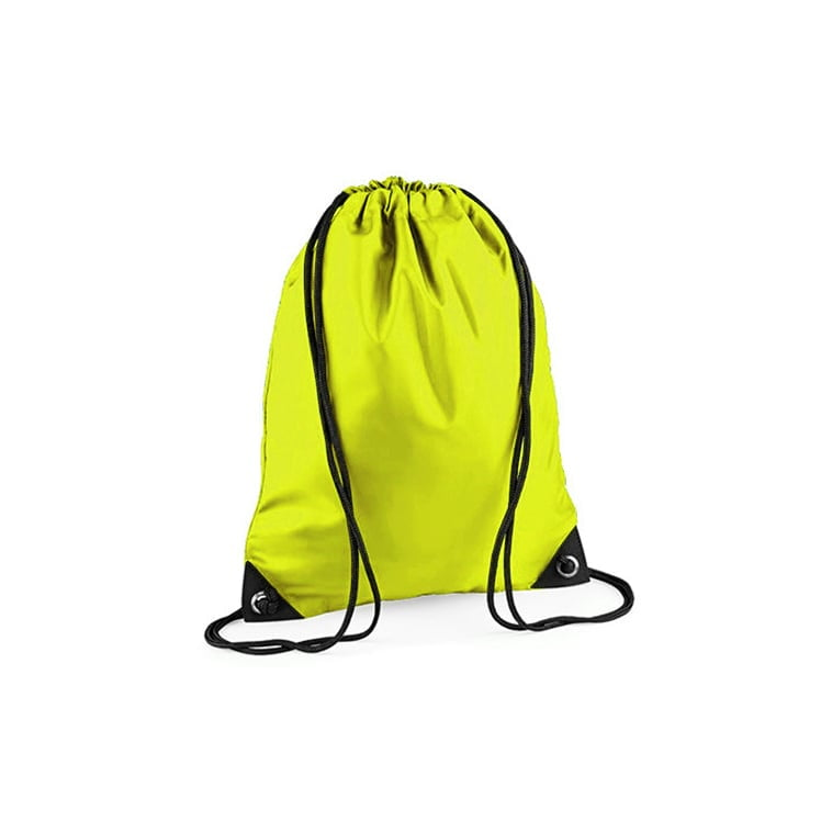 Torby i plecaki - Worek festiwalowy Premium - BG10 - Fluorescent Yellow - RAVEN - koszulki reklamowe z nadrukiem, odzież reklamowa i gastronomiczna
