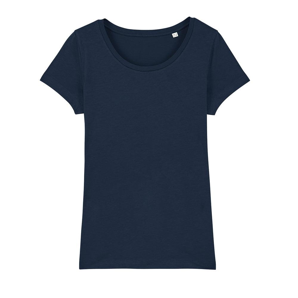 Koszulki T-Shirt - Damski T-shirt Stella Lover - STTW017 - French Navy - RAVEN - koszulki reklamowe z nadrukiem, odzież reklamowa i gastronomiczna