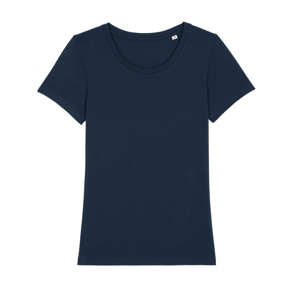 Koszulki T-Shirt - Damski T-shirt Stella Expresser - STTW032 - French Navy - RAVEN - koszulki reklamowe z nadrukiem, odzież reklamowa i gastronomiczna