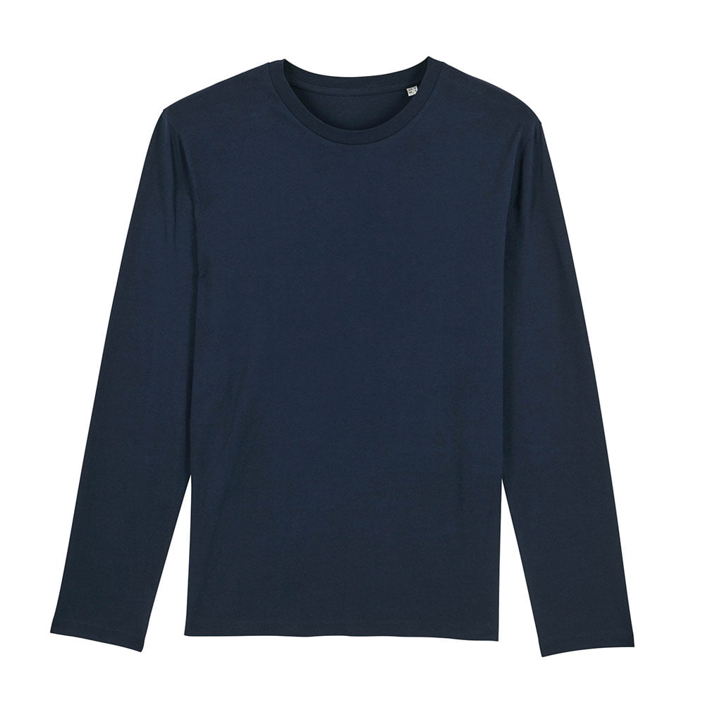 Koszulki T-Shirt - Męski Longsleeve Stanley Shuffler - STTM560 - French Navy - RAVEN - koszulki reklamowe z nadrukiem, odzież reklamowa i gastronomiczna