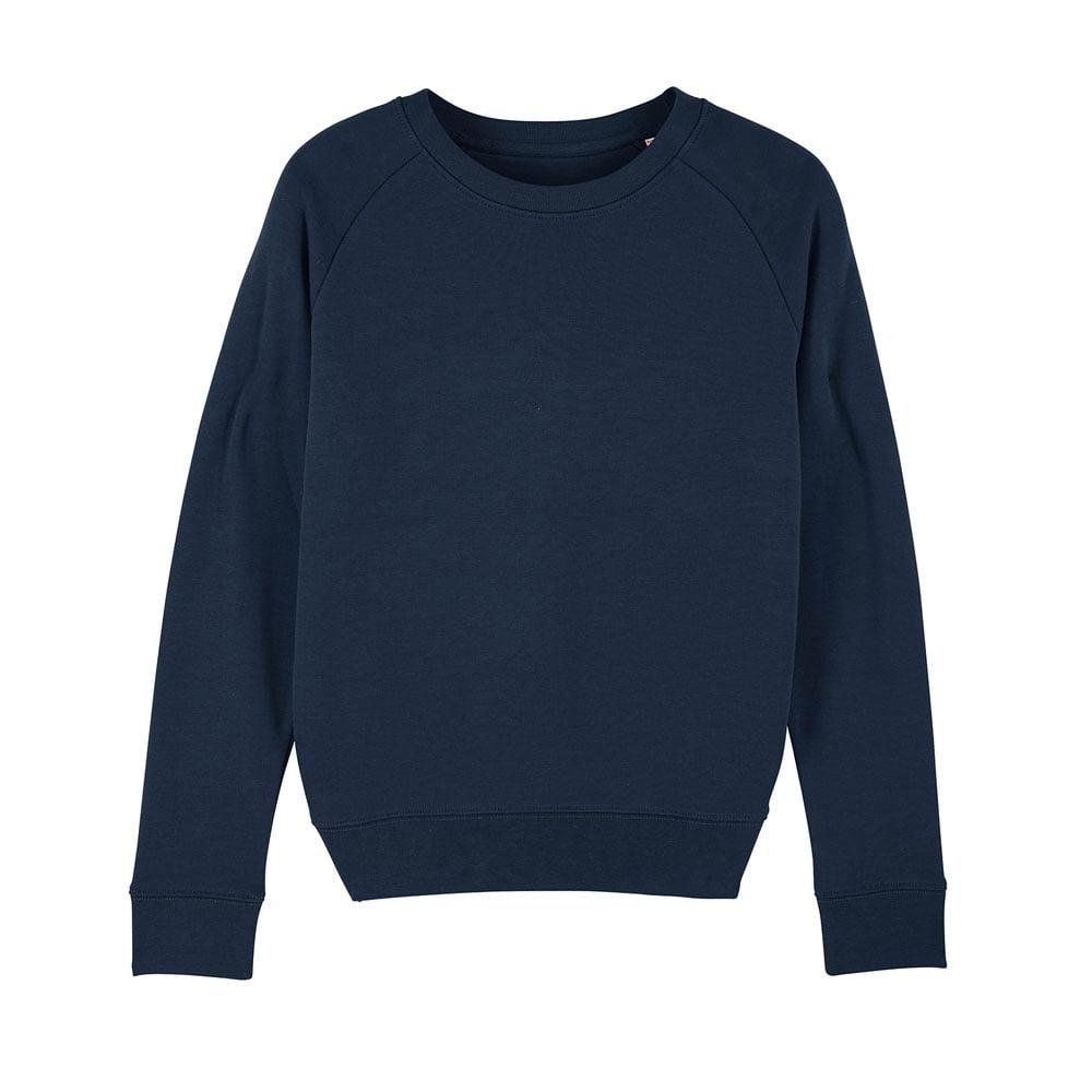 Bluzy - Damska Bluza Stella Tripster - STSW146 - French Navy - RAVEN - koszulki reklamowe z nadrukiem, odzież reklamowa i gastronomiczna