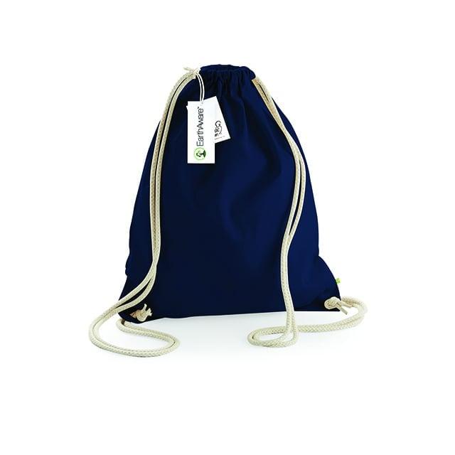 Torby i plecaki - EarthAware™ Organic Gymsac - W810 - French Navy - RAVEN - koszulki reklamowe z nadrukiem, odzież reklamowa i gastronomiczna