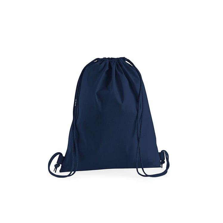 Torby i plecaki - Premium Cotton Gymsac - W210 - French Navy - RAVEN - koszulki reklamowe z nadrukiem, odzież reklamowa i gastronomiczna