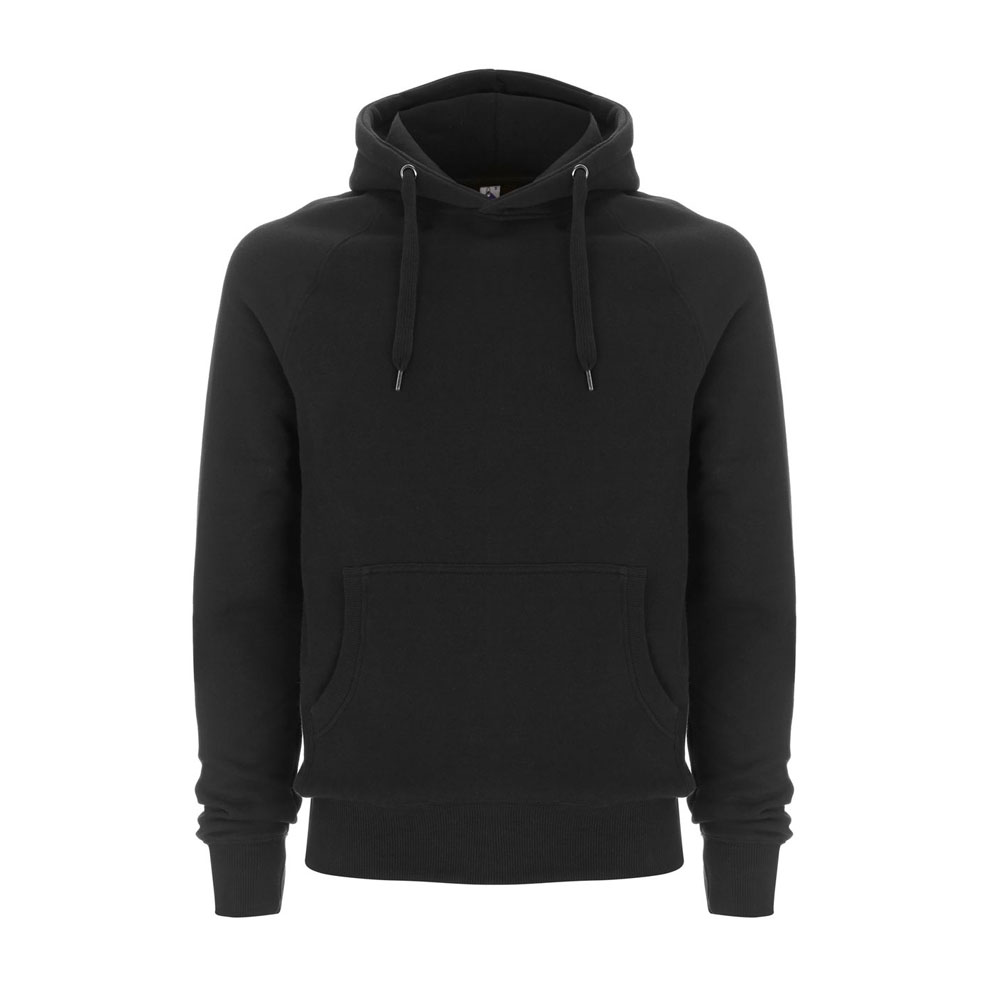 Bluzy - Bluza Unisex Pullover Hoody FS60P - BL - Black - RAVEN - koszulki reklamowe z nadrukiem, odzież reklamowa i gastronomiczna