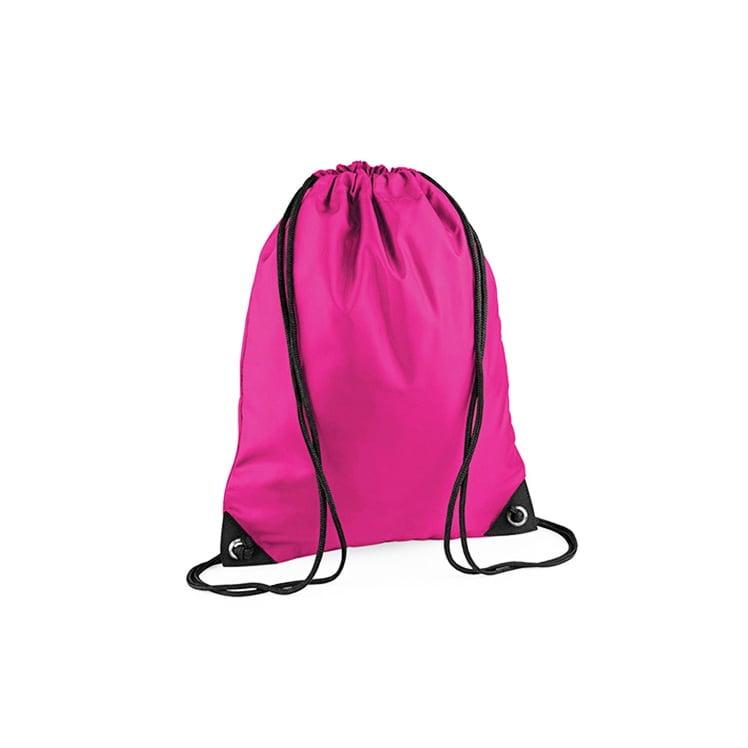 Torby i plecaki - Worek festiwalowy Premium - BG10 - Fuchsia - RAVEN - koszulki reklamowe z nadrukiem, odzież reklamowa i gastronomiczna