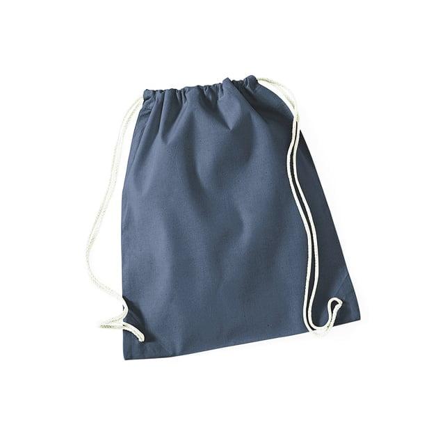 Torby i plecaki - Worek festiwalowy Cotton Gym - W110 - Graphite Grey - RAVEN - koszulki reklamowe z nadrukiem, odzież reklamowa i gastronomiczna
