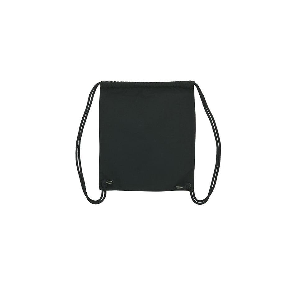 Torby i plecaki - Worek bawełniany Gym - STAU763 - Black - RAVEN - koszulki reklamowe z nadrukiem, odzież reklamowa i gastronomiczna