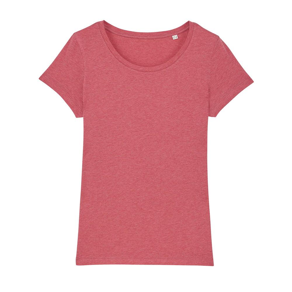 Koszulki T-Shirt - Damski T-shirt Stella Lover - STTW017 - Heather Cranberry - RAVEN - koszulki reklamowe z nadrukiem, odzież reklamowa i gastronomiczna