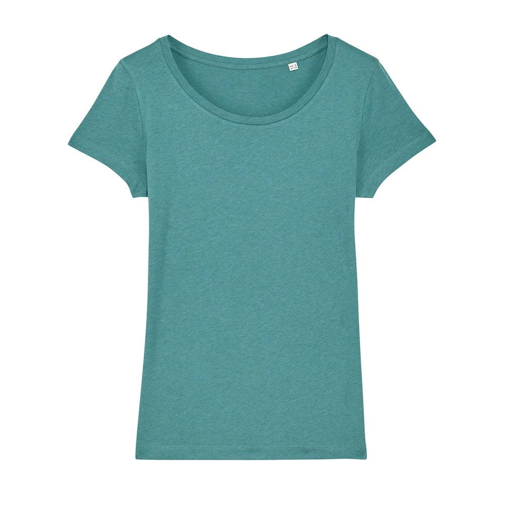 Koszulki T-Shirt - Damski T-shirt Stella Lover - STTW017 - Heather Eucalyptus - RAVEN - koszulki reklamowe z nadrukiem, odzież reklamowa i gastronomiczna