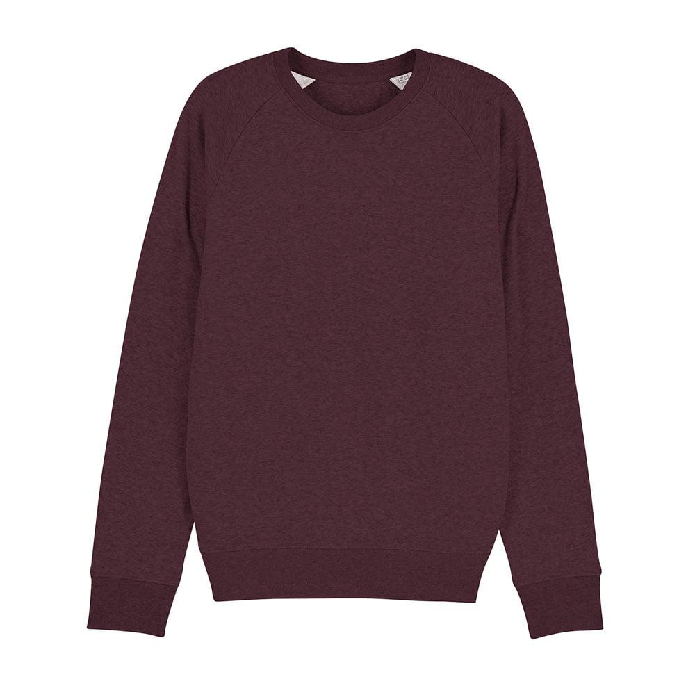 Bluzy - Męska Bluza Stanley Stroller - STSM567 - Heather Grape Red - RAVEN - koszulki reklamowe z nadrukiem, odzież reklamowa i gastronomiczna
