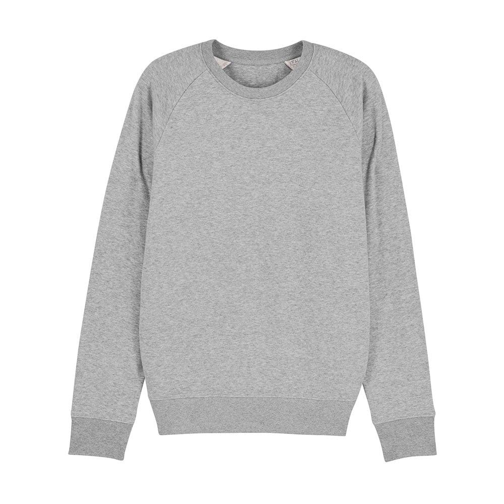 Bluzy - Męska Bluza Stanley Stroller - STSM567 - Heather Grey - RAVEN - koszulki reklamowe z nadrukiem, odzież reklamowa i gastronomiczna