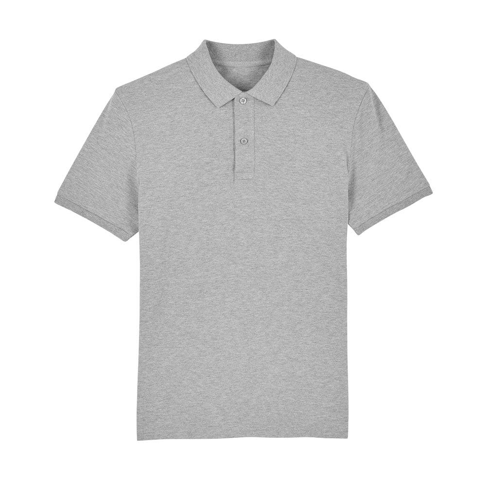 Koszulki Polo - Męska koszulka Polo Stanley Dedicator - STPM563 - Heather Grey - RAVEN - koszulki reklamowe z nadrukiem, odzież reklamowa i gastronomiczna