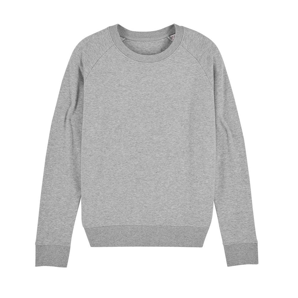 Bluzy - Damska Bluza Stella Tripster - STSW146 - Heather Grey - RAVEN - koszulki reklamowe z nadrukiem, odzież reklamowa i gastronomiczna