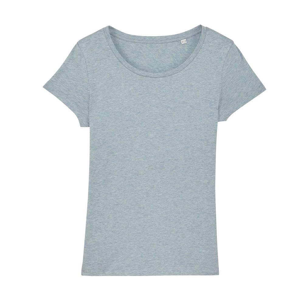 Koszulki T-Shirt - Damski T-shirt Stella Lover - STTW017 - Heather Ice Blue - RAVEN - koszulki reklamowe z nadrukiem, odzież reklamowa i gastronomiczna