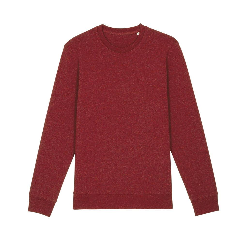 Bluzy - Bluza Unisex Changer - STSU823 - Heather Neppy Burgundy - RAVEN - koszulki reklamowe z nadrukiem, odzież reklamowa i gastronomiczna