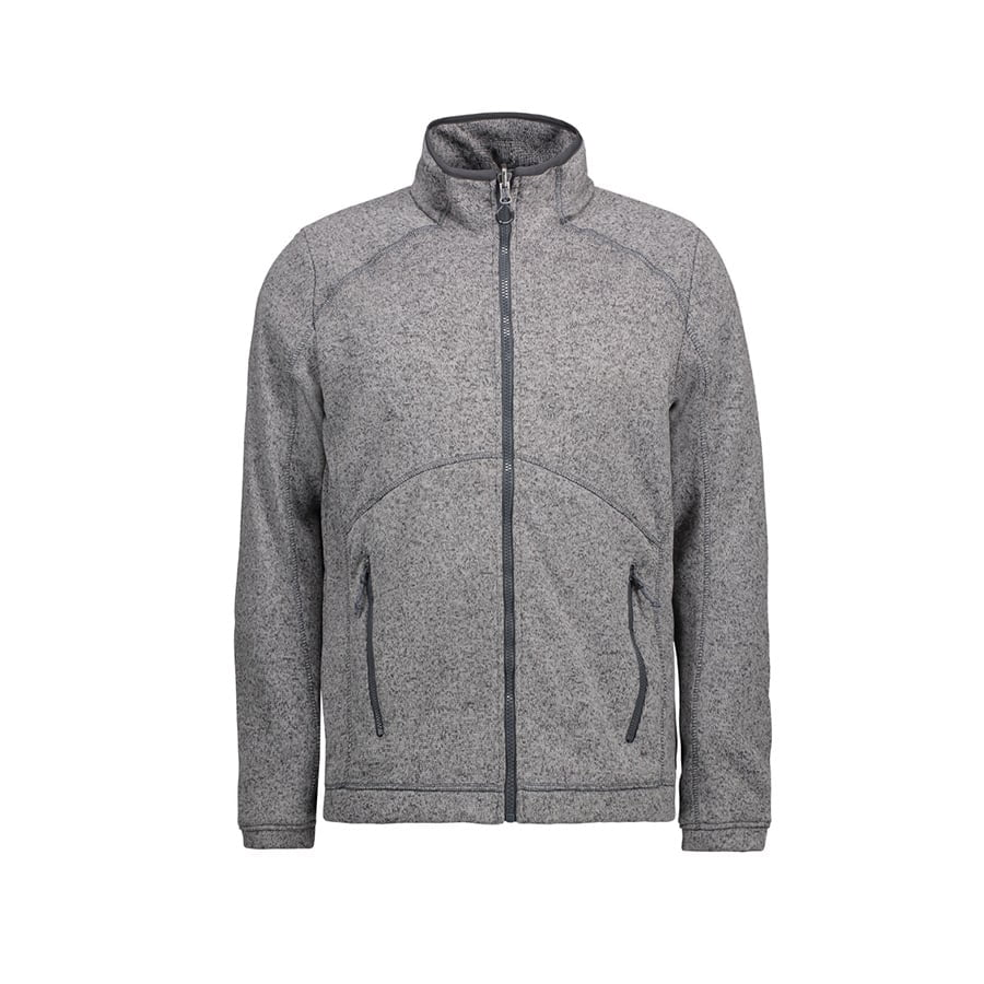 Męska bluza Zip'n'Mix melange fleece