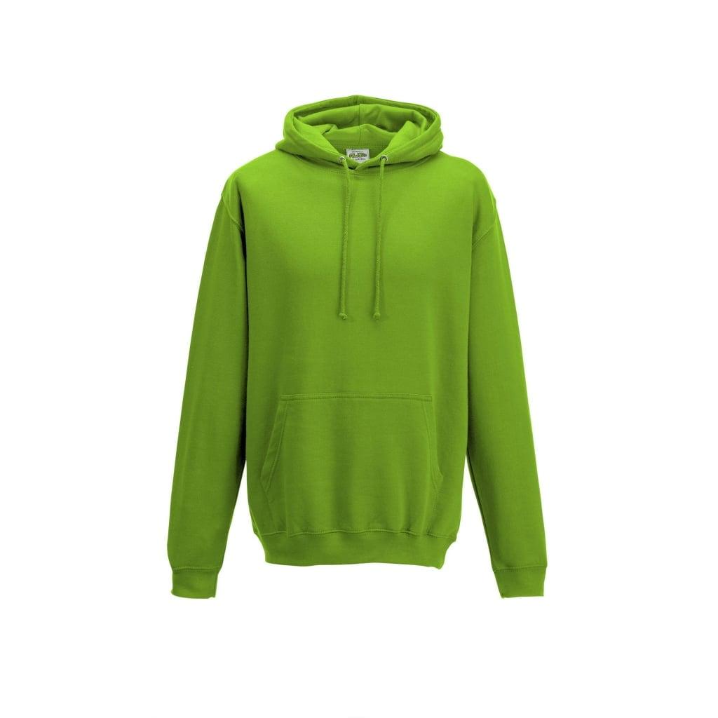 Bluzy - Bluza z kapturem College - Just Hoods JH001 - Alien Green - RAVEN - koszulki reklamowe z nadrukiem, odzież reklamowa i gastronomiczna
