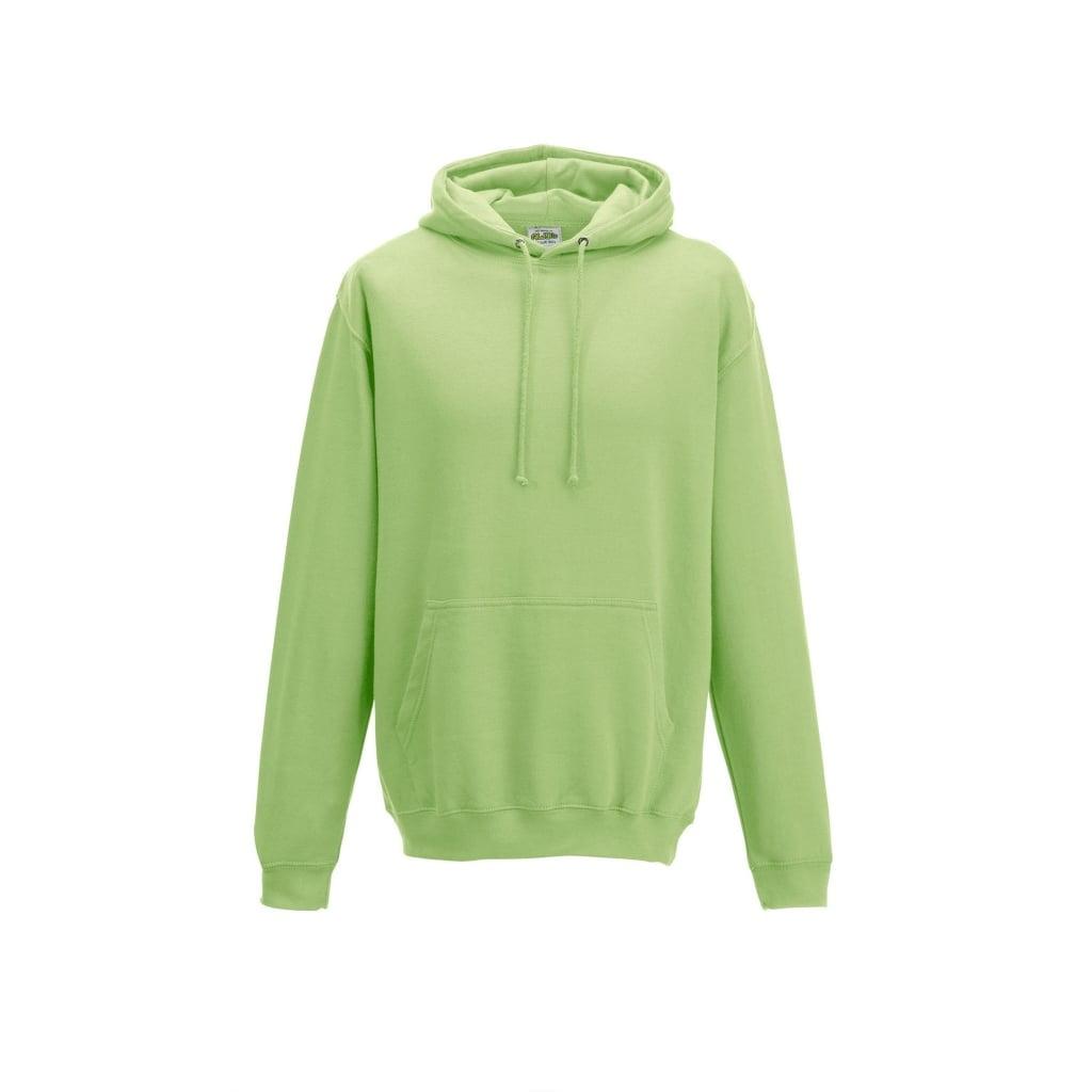 Bluzy - Bluza z kapturem College - Just Hoods JH001 - Apple Green - RAVEN - koszulki reklamowe z nadrukiem, odzież reklamowa i gastronomiczna