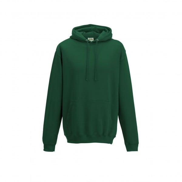 Bluzy - Bluza z kapturem College - Just Hoods JH001 - Bottle Green - RAVEN - koszulki reklamowe z nadrukiem, odzież reklamowa i gastronomiczna