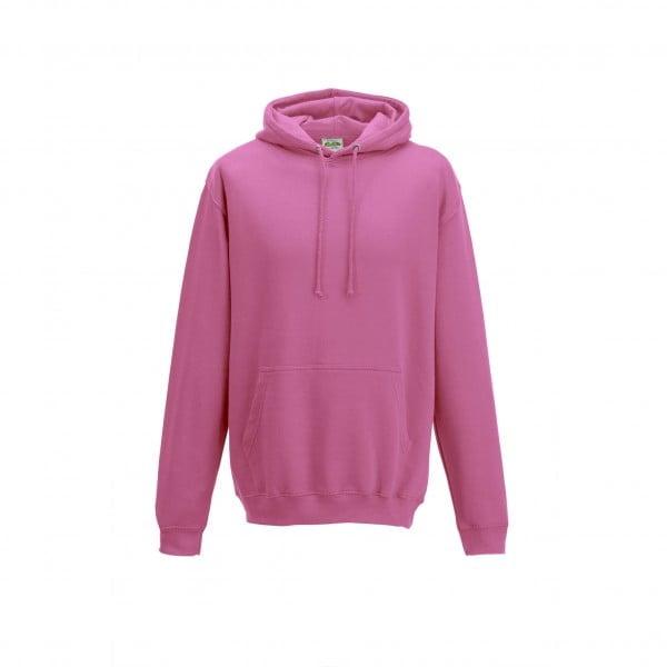 Bluzy - Bluza z kapturem College - Just Hoods JH001 - Candyfloss Pink - RAVEN - koszulki reklamowe z nadrukiem, odzież reklamowa i gastronomiczna