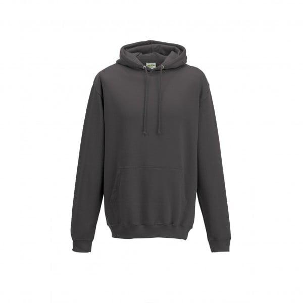 Bluzy - Bluza z kapturem College - Just Hoods JH001 - Charcoal - RAVEN - koszulki reklamowe z nadrukiem, odzież reklamowa i gastronomiczna