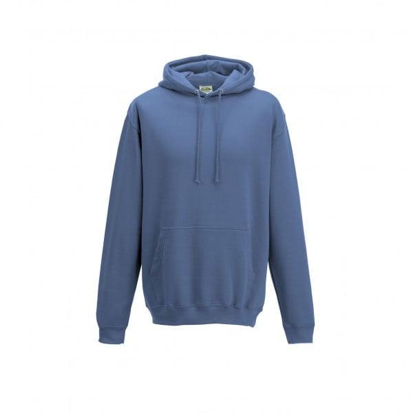 Bluzy - Bluza z kapturem College - Just Hoods JH001 - Cornflower Blue - RAVEN - koszulki reklamowe z nadrukiem, odzież reklamowa i gastronomiczna