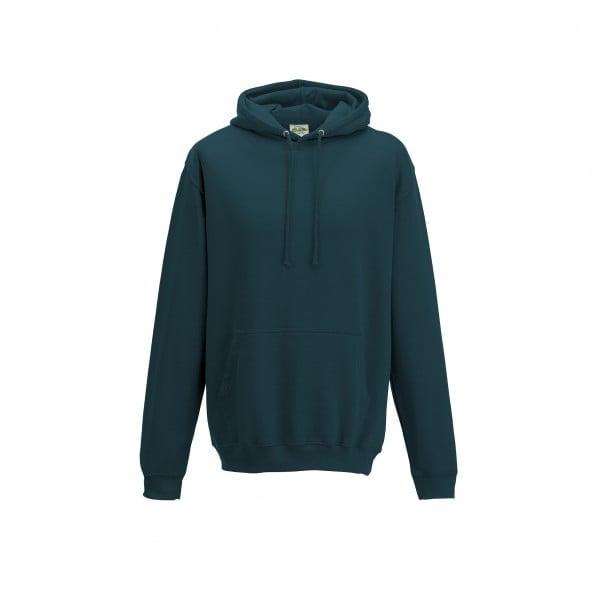 Bluzy - Bluza z kapturem College - Just Hoods JH001 - Deep Sea Blue - RAVEN - koszulki reklamowe z nadrukiem, odzież reklamowa i gastronomiczna