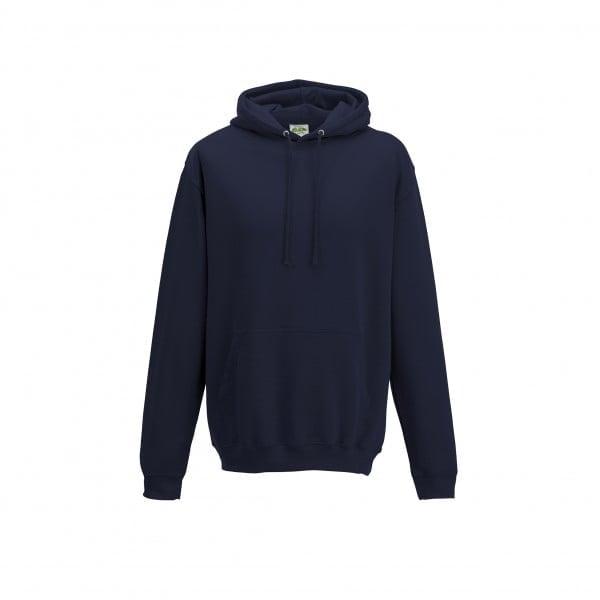 Bluzy - Bluza z kapturem College - Just Hoods JH001 - Denim - RAVEN - koszulki reklamowe z nadrukiem, odzież reklamowa i gastronomiczna