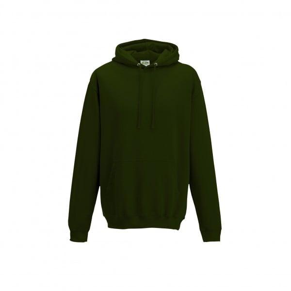 Bluzy - Bluza z kapturem College - Just Hoods JH001 - Forest Green - RAVEN - koszulki reklamowe z nadrukiem, odzież reklamowa i gastronomiczna