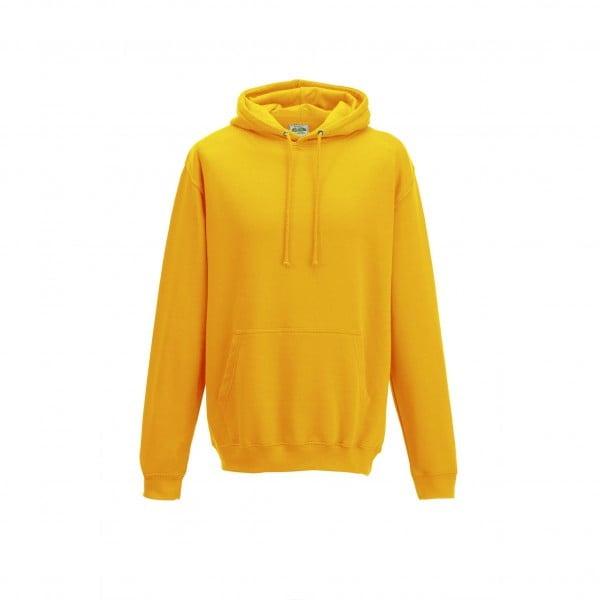 Bluzy - Bluza z kapturem College - Just Hoods JH001 - Gold - RAVEN - koszulki reklamowe z nadrukiem, odzież reklamowa i gastronomiczna