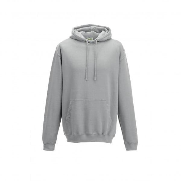 Bluzy - Bluza z kapturem College - Just Hoods JH001 - Heather Grey - RAVEN - koszulki reklamowe z nadrukiem, odzież reklamowa i gastronomiczna